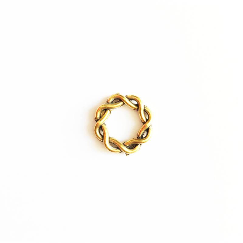 خرج کار طلایی رنگ 15mm بسته 3 عددی