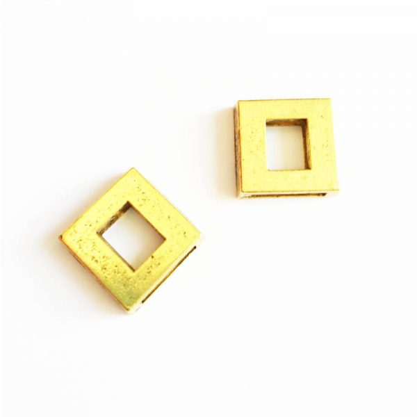 خرج کار طلایی رنگ 16mm بسته 2 عددی