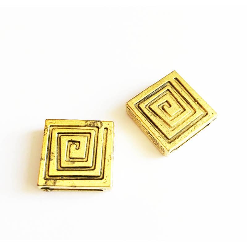 خرج کار طلایی رنگ 17mm بسته 4 عددی