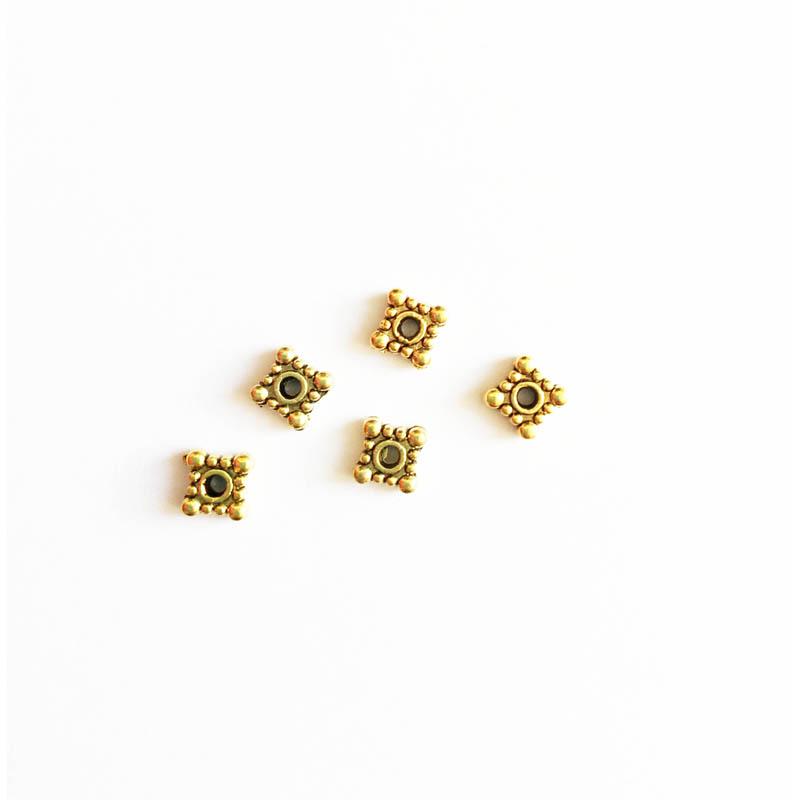 خرج کار طلایی رنگ 4mm بسته 14 عددی