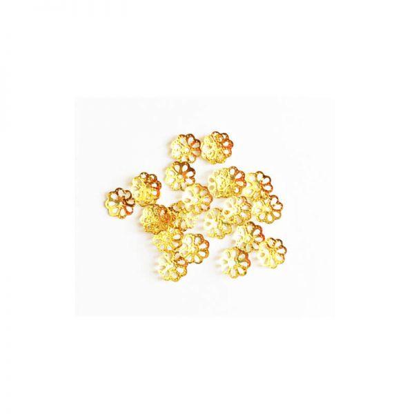خرج کار طلایی کاسبرگ بسته 50 عددی 7mm