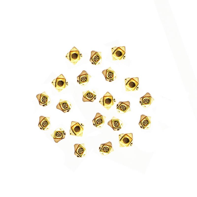خرج کار طلایی 4mm بسته 15 عددی