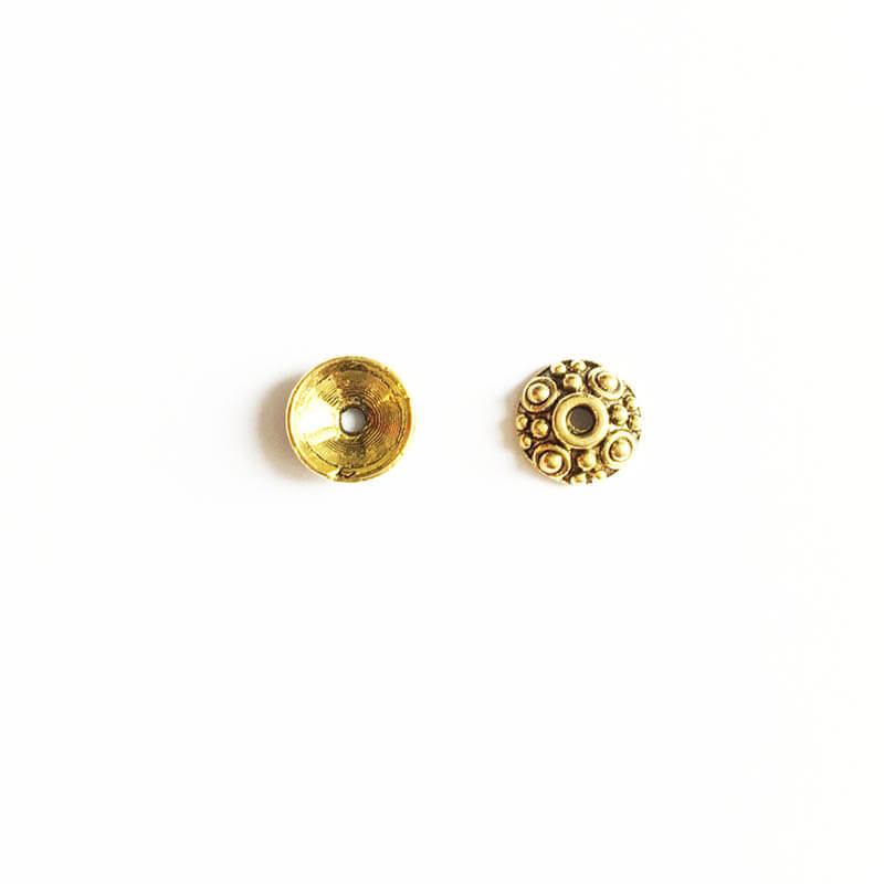 خرج کار طلایی 7mm بسته 18 عددی