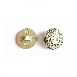 دکمه نقره ای طرح لنگر 1.8cm