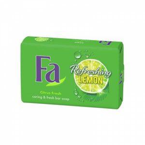 صابون فا Fa مدل Refreshing Lemon وزن 175 گرم