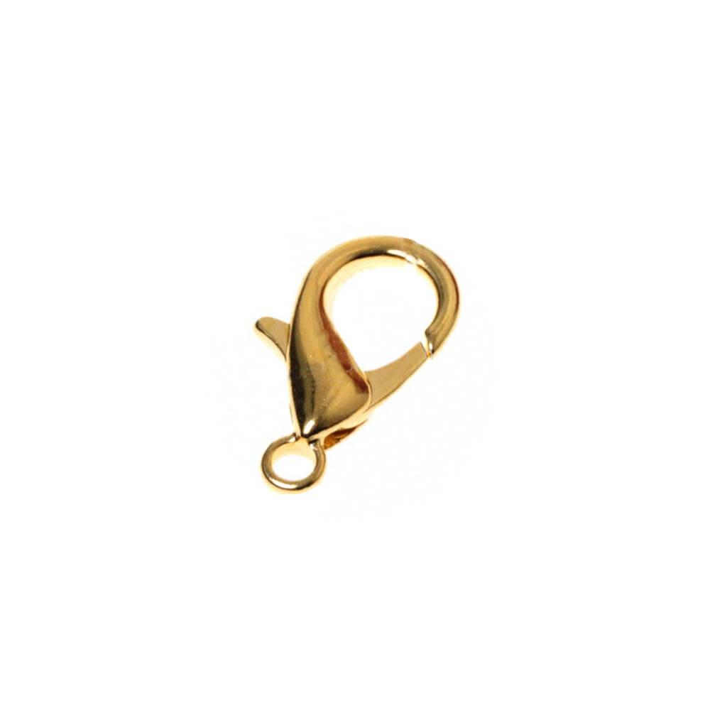 قفل دستبند طوطی طلایی بسته 12 عددی