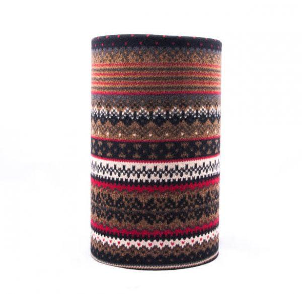 اسکارف طرح دار پشمی SW1011