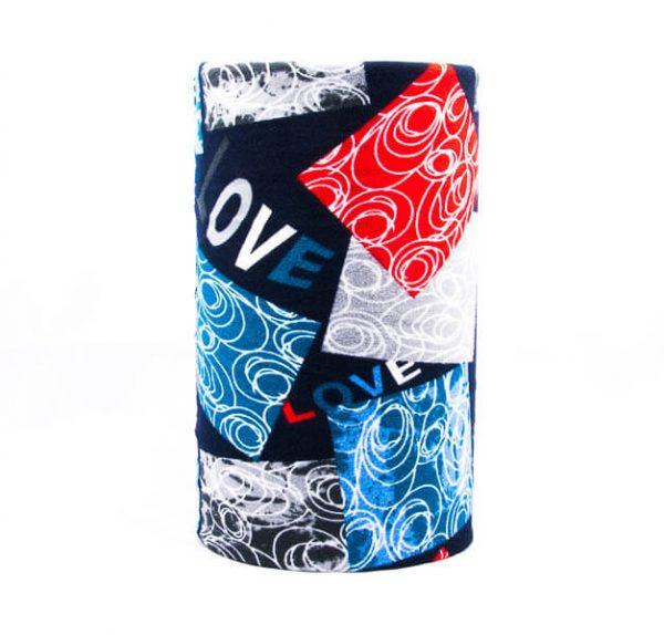 اسکارف طرح دار پشمی SW1019