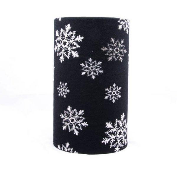 اسکارف طرح دار پشمی SW1016