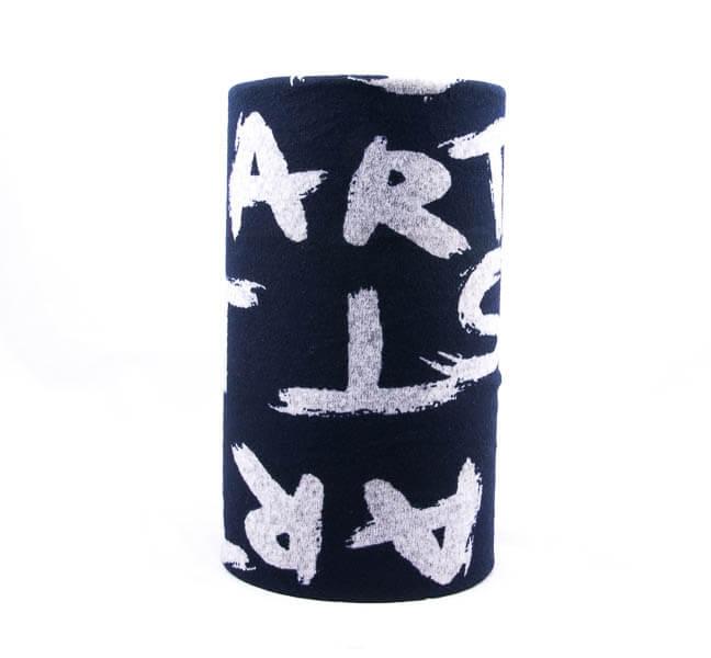 اسکارف طرح دار پشمی SW1018