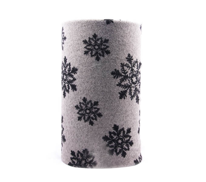 اسکارف طرح دار پشمی SW1017