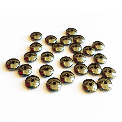 سنگ حدید براق بین کار 8x4mm بسته 55 عددی