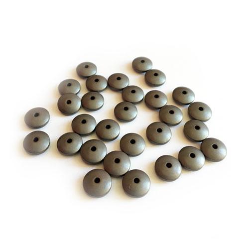 سنگ حدید مات بین کار 6x3mm بسته 55 عددی