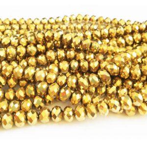 سنگ کریستال طلایی سایز 8