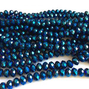 سنگ کریستال آبی سایز 8