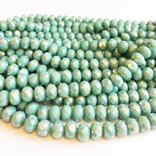 سنگ کریستال آبی روشن سایز 8