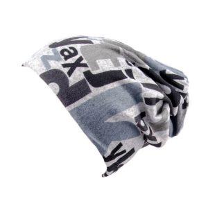 کلاه اسکارف طرح دار پشمی SCH1001