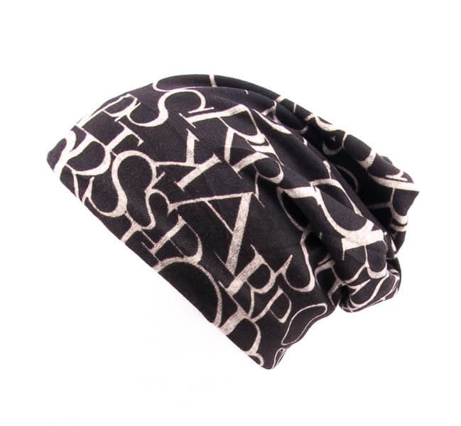 کلاه اسکارف طرح دار پشمی SCH1002