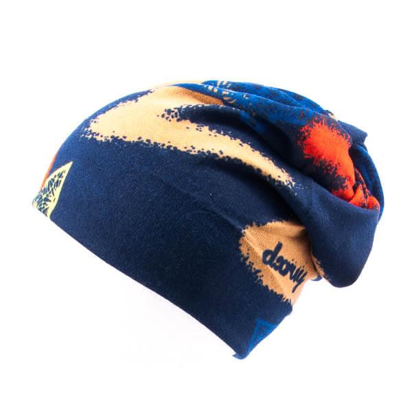 کلاه اسکارف طرح دار پشمی SCH1005