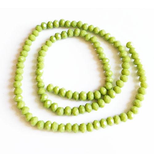 سنگ کریستال رنگ سبز سایز 4