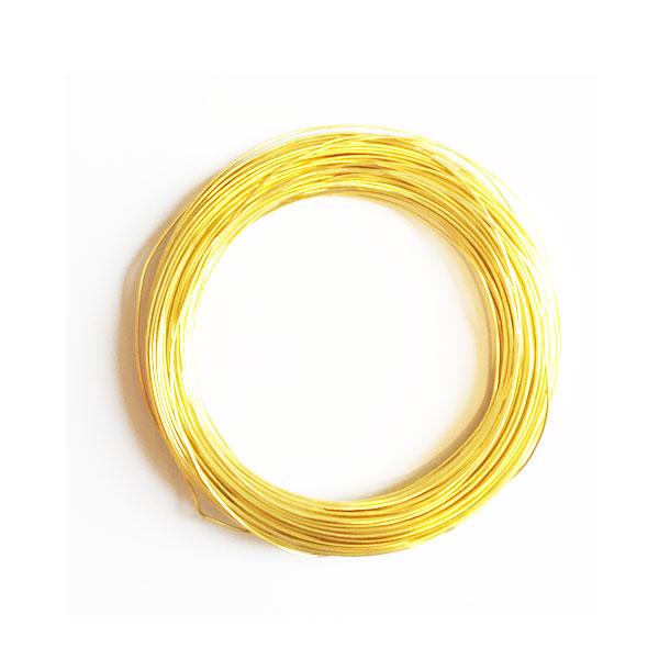سیم مفتول طلایی 0.5mm