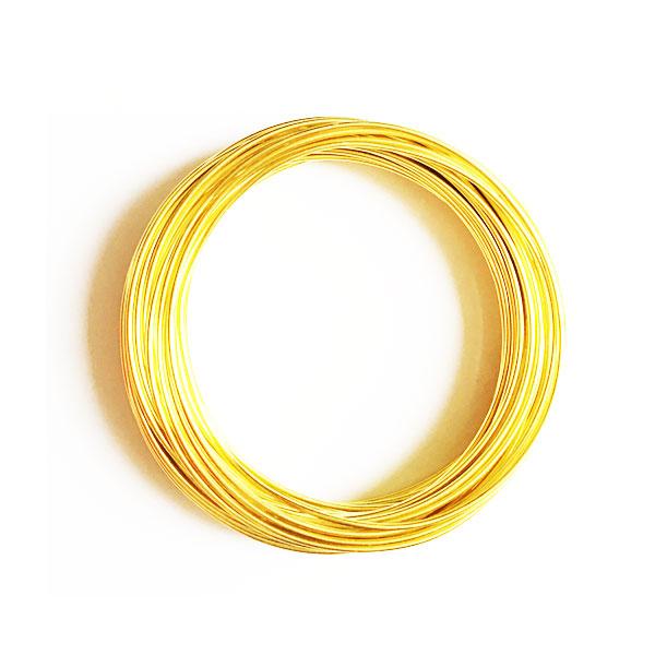 سیم مفتول طلایی 1.5mm