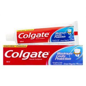 خمیر دندان کلگیت maximum cavity protection حجم 100ml