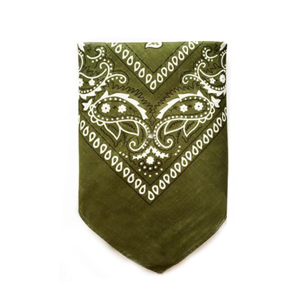 دستمال سر سبز ارتشی BA1037