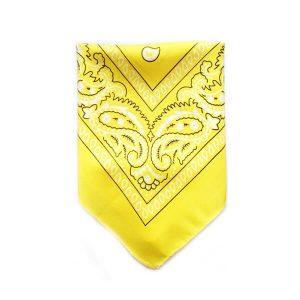 دستمال سر و گردن زرد BA1029