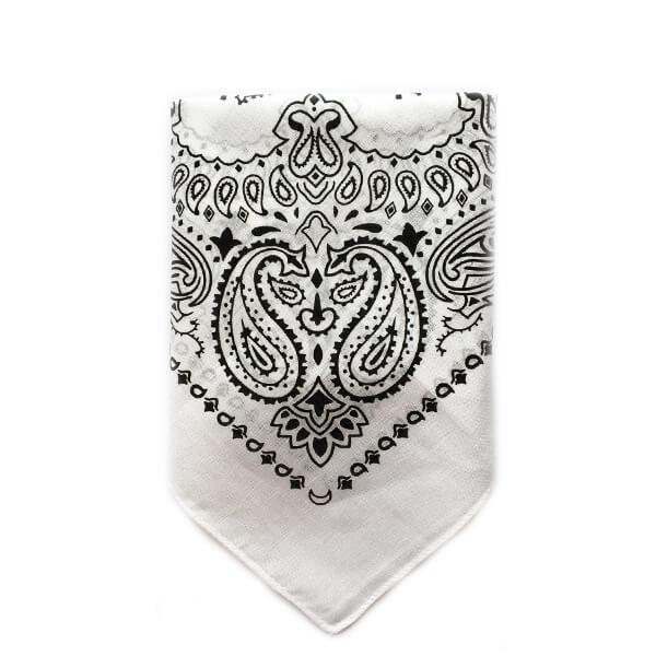 دستمال سر و گردن سفید BA1028