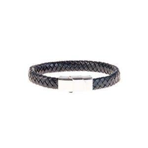 دستبند چرمی فلزی مردانه MM1010