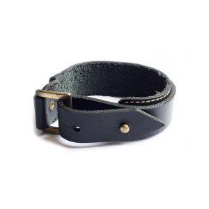 دستبند چرمی سگک دار LM1036