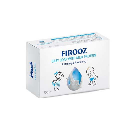 صابون بچه شیر فیروز حجم 75g