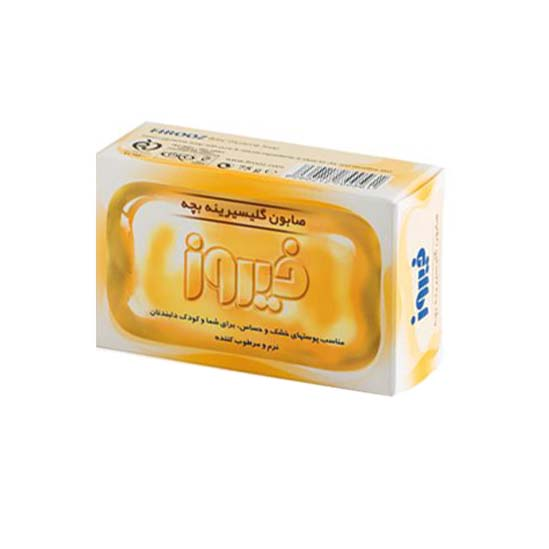 صابون گلیسیرینه بچه فیروز حجم 75 گرم