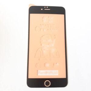 گلس محافظ صفحه نمایش سرامیکی مات 9D اپل مدل 6s پلاس مشکی