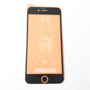 گلس محافظ صفحه نمایش سرامیکی مات 9D اپل مدل 6 مشکی