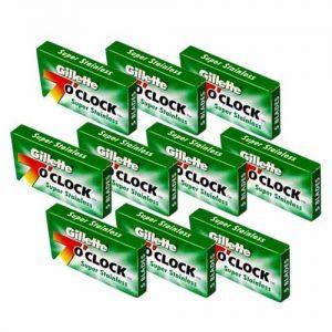 تیغ یدک ژیلت مدل 7oclock بسته 50 عددی