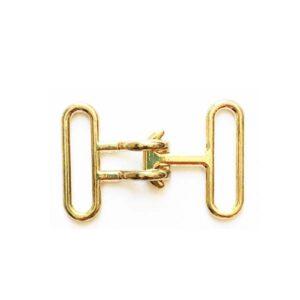 قفل طلایی فلزی بسته 1 عددی